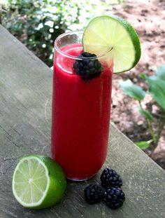 Raspberry Lime Smoothie