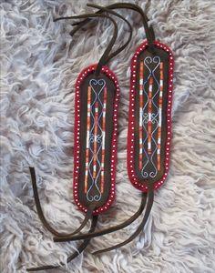 Arm ties - Woodland - Quillwork  Made by Romana Ziemann