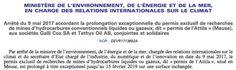 Ségolène Royal prolonge discrètement un permis de recherche d'hydrocarbures