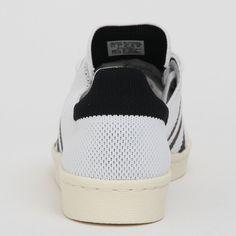 adidas Originals Superstar 80s Primeknit Ftwr White/Core Black/Gold Met S82779