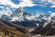 O famoso Monte Everest conquistou a primeira posição, seguido pelas montanhas K2, Kangchenjunga e Lhotse