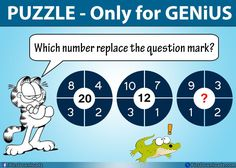 Which number replace the question mark? Difficult Math Puzzles only for Geniuses with Answer! Hi, Let& make it a little bit difficult for you. Try to solve this genius-level math puzzle and share your answer below Picture Puzzles Brain Teasers, Brain Teaser Puzzles, Best Brain Teasers, Brain Teasers Riddles, Brain Teaser Questions, Math Questions, Logic Math, Logic Puzzles, Circle Math