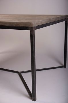 Industrial Dining Table. Reclaimed Pinewood and Metal Frame 150x100 Available…
