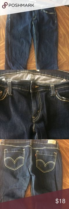 Levi's 524 too super low jeans Use good Levis jeans for women no stains or rips size13 m w31 L 32 Levi's Jeans Skinny