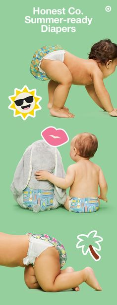 The Honest Co. playful, summer-print diapers are made to inspire. These super-absorbent, eco-friendly diapers are made with naturally derived, plant-based, sustainable materials and feature comfy stretch side panels to provide the perfect fit for your baby. These diapers are perfect for summer and your Target Baby Registry and are here for a limited time only. Choose from hibiscus, pineapple or surfboard prints—so cute!