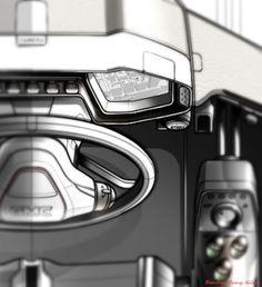 Gashetka | Transportation Design | 2014 | GMC Interior | CDN/GM Interactive Design...