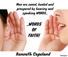 Speak words of FAITH