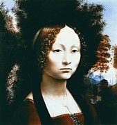 "New artwork for sale! - "" Leonardo Da Vinci - Portrait Of Ginevra Benci by Leonardo da Vinci "" - http://ift.tt/2lXRdSd"