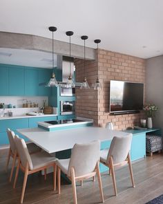 can make your dream come true! - Design Cointrend News Interior Design Kitchen, Kitchen Decor, Interiores Design, Apartment Living, Interior Inspiration, Living Room Designs, Sweet Home, Indoor Outdoor, House Styles
