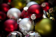 Pictures of christmas ornaments - 3 PHOTO!