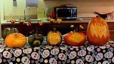 Pumpkin Pictures, Halloween 2019, Pumpkin Carving, Vegetables, Pumpkin Carvings, Vegetable Recipes, Veggies