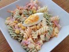 Ensalada de pasta fresca y sencilla ⋆ Arroces y pastas, Ensaladas » Recetario de cocina