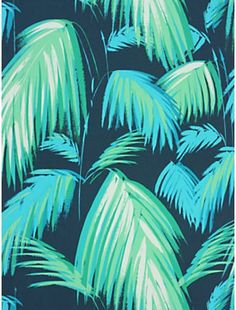 Pin for Later: 19 Palm-Print Items That'll Turn Your Home Into a Tropical Paradise Matthew Williamson Tropicana Wallpaper Matthew Williamson Tropicana Wallpaper (£59)