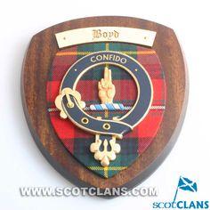 Boyd Clan Crest Wall Plaque