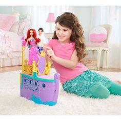 Disney Princess Ariel's Royal Ship Play Set