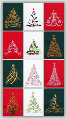 2 Christmas 1 3         New Sealed      Anita Goodesign