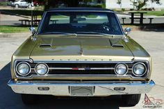 Plymouth Cars, Plymouth Gtx, Metallic Gold Paint, Plymouth Belvedere, American Classic Cars, Big Trucks, Mopar, Luxury Cars, Vintage Cars