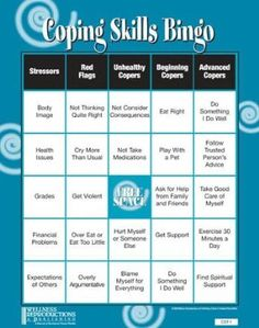 Coping Skills Bingo:Amazon:Toys & Games