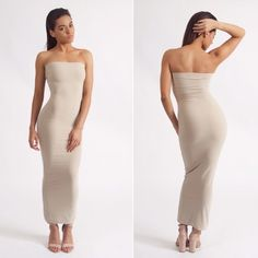 Our most popular dress - the 'Tamera' bodycon maxi tube dress #fashion #style