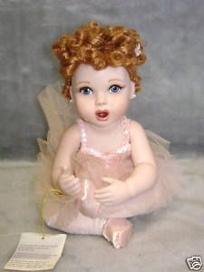 -Lucille Ball I Love Lucy Frankin Mint Ballet Baby Doll New in Box ...