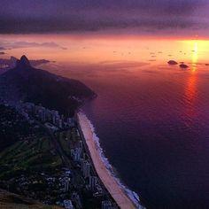 Sábado começando no Rio de Janeiro. Espetacular...