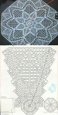 Crochet Angel Pattern, Free Crochet Doily Patterns, Crochet Doily Diagram, Crochet Circles, Crochet Squares, Sewing Patterns, Crochet Home, Love Crochet, Vintage Crochet