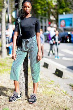 Mayowa Nicholas #MayowaNicholas #Fashion, #FW16, #Moda, #Mode, #Model, #Models,OffDuty, #Paris, #PFW, #SS17, #Street, #StreetStyle, #Style, #Woman, #Women Photo © Wayne Tippetts