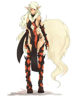 Arcanine gijinka. This one is cool, I think