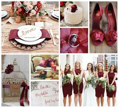 Pantone announced that the official color of  the year is Marsala! Redder than chocolate, browner than burgundy, Marsala is predicted to be a hot hue for 2015 weddings. Although red is usually associated with fall and winter weddings, Marsala is versatile when paired with complementary colors.  Marsala, blush and ivory is a perfect palette for any season or pair the color of the year with corals and oranges for a summery vibe. #ShopIDC