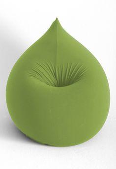 Groene #zitzak, leuk idee voor een #kinderkamer | Green #beanbag, nice idea for the #kidsroom!