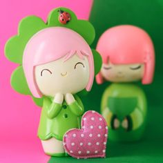 Momiji Doll, Collections Photography, Wooden Dolls, Designer Toys, 3d Design, Biscuit, Hello Kitty, Polymer Clay, Sticker