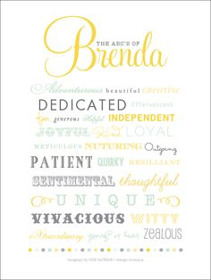 SHE PAPERIE + design boutique: The ABC's Of Mom