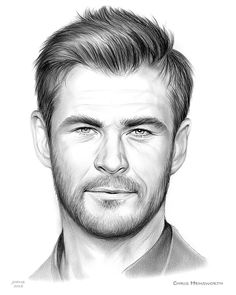 Chris Hemsworth Sketch of the Day for Saturday, July 2018 Christopher Hemsworth (born 11 August is an Australian actor. He rose to prominence playing Kim Hyde in the Australian TV series Home and Away Avengers Drawings, Avengers Art, Marvel Art, Realistic Pencil Drawings, Pencil Art Drawings, Art Drawings Sketches, Portrait Sketches, Pencil Portrait, Man Portrait