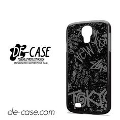 Stussy Cities Of The World DEAL-10218 Samsung Phonecase Cover For Samsung Galaxy S4 / S4 Mini
