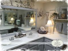 Shabby Chic Bathrooms Farmhouse Style Bathrooms And Vanities