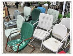 Motel Chairs | Motel Chairs · Vintage Patio FurnitureMetal FurnitureLawn ...