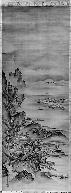 Kano Tansui   View of Mt. Horai   Japan   Edo period (1615–1868)   The Met