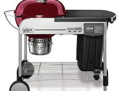 """WEBER-STEPHEN PRODUCTS 15503001 Perf Prm 22"""" Crim Grill   Charcoal Grill Ratings"""