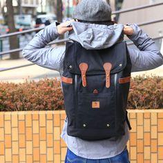 *WHEELMEN* babylon backpack (black)