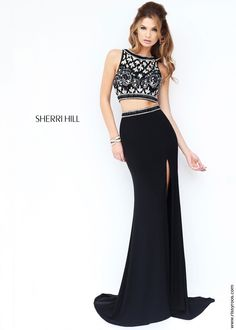 Sherri Hill 9731 Sexy 2-Piece Gown