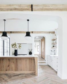 Home Interior Modern .Home Interior Modern Home Interior, Kitchen Interior, Interior Ideas, Natural Interior, Interior Livingroom, Interior Modern, Interior Design With Wood, Wood House Design, Rustic Home Design