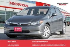 2012 Honda Civic LX | Automatic