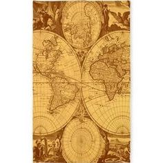 vintage map rugs - Google Search