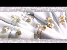 Como fazer Porta Guardanapo de pérolas rápido, econômico e lindo ;) - YouTube