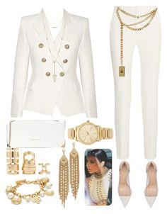A fashion look from May 2016 featuring blazer jacket, Roland Mouret and lingerie bra. Browse and shop related looks. Cute Casual Outfits, Chic Outfits, Fashion Outfits, Womens Fashion, My Outfit, Outfit Ideas, Dinner Party Outfits, Surprise Birthday, Classy Fashion