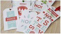 {Navidad} 20 sets de etiquetas de navidad 100% molonas