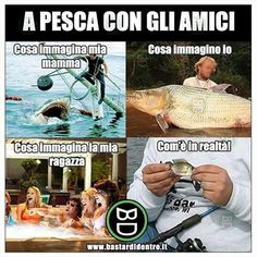 A #pesca con gli #amici. #bastardidentro ( Hai visto il nostro ultimo video su YouTube?) www.bastardidentro.it