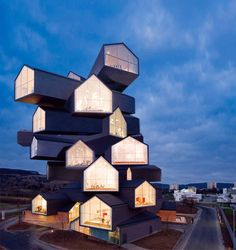 Animated GIFs make buildings do impossible things