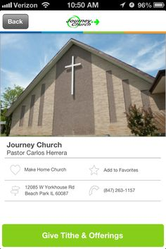 Journey Church in Beach Park, Illinois #GivelifyChurches