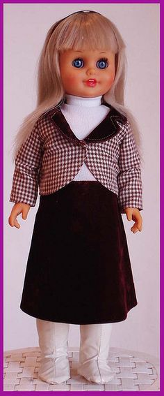 Leonora Talking Doll by Lili Ledy Mexico 70's - 80's 1